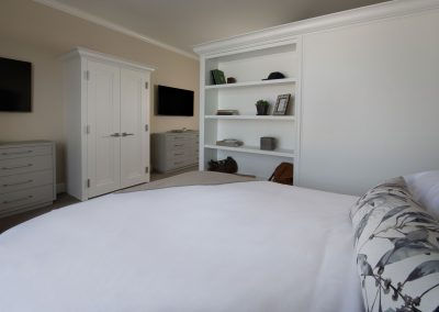 bed in semiprivate suite