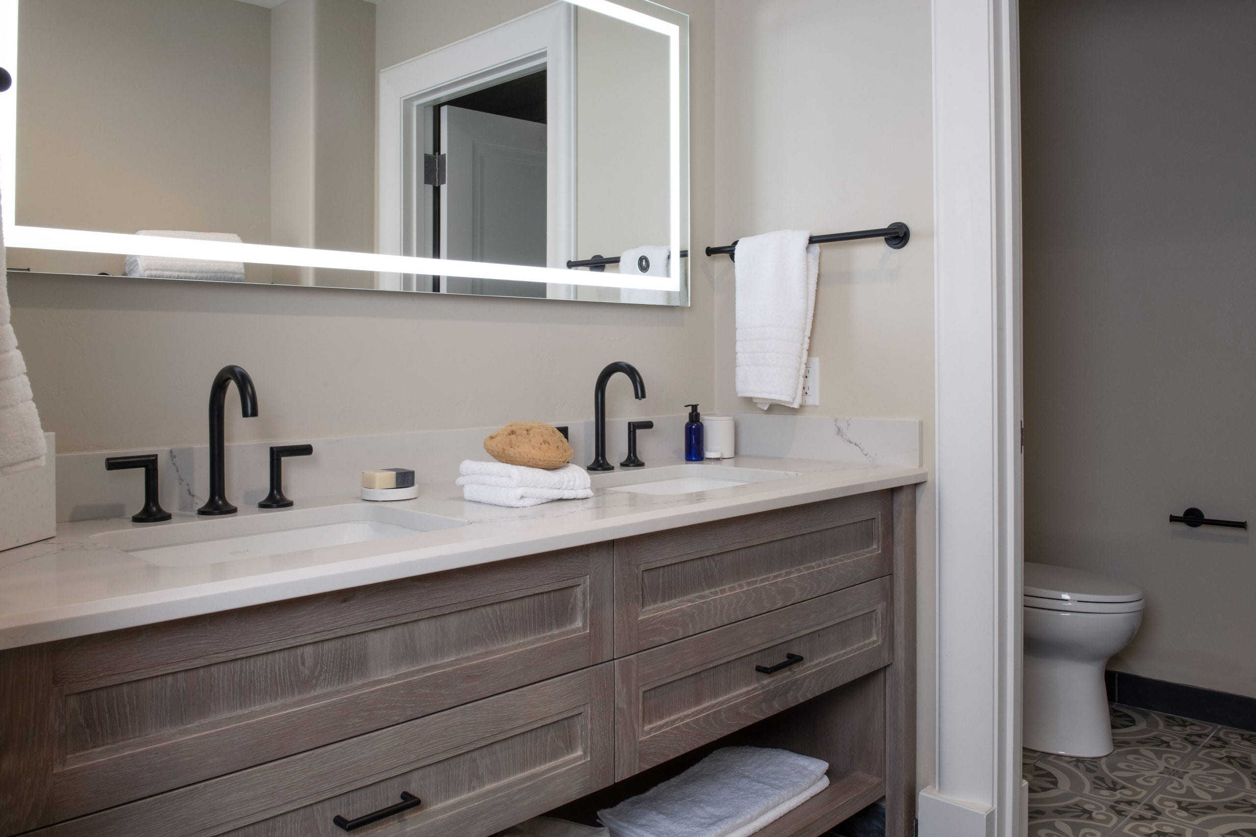 Semiprivate Suite Bathroom