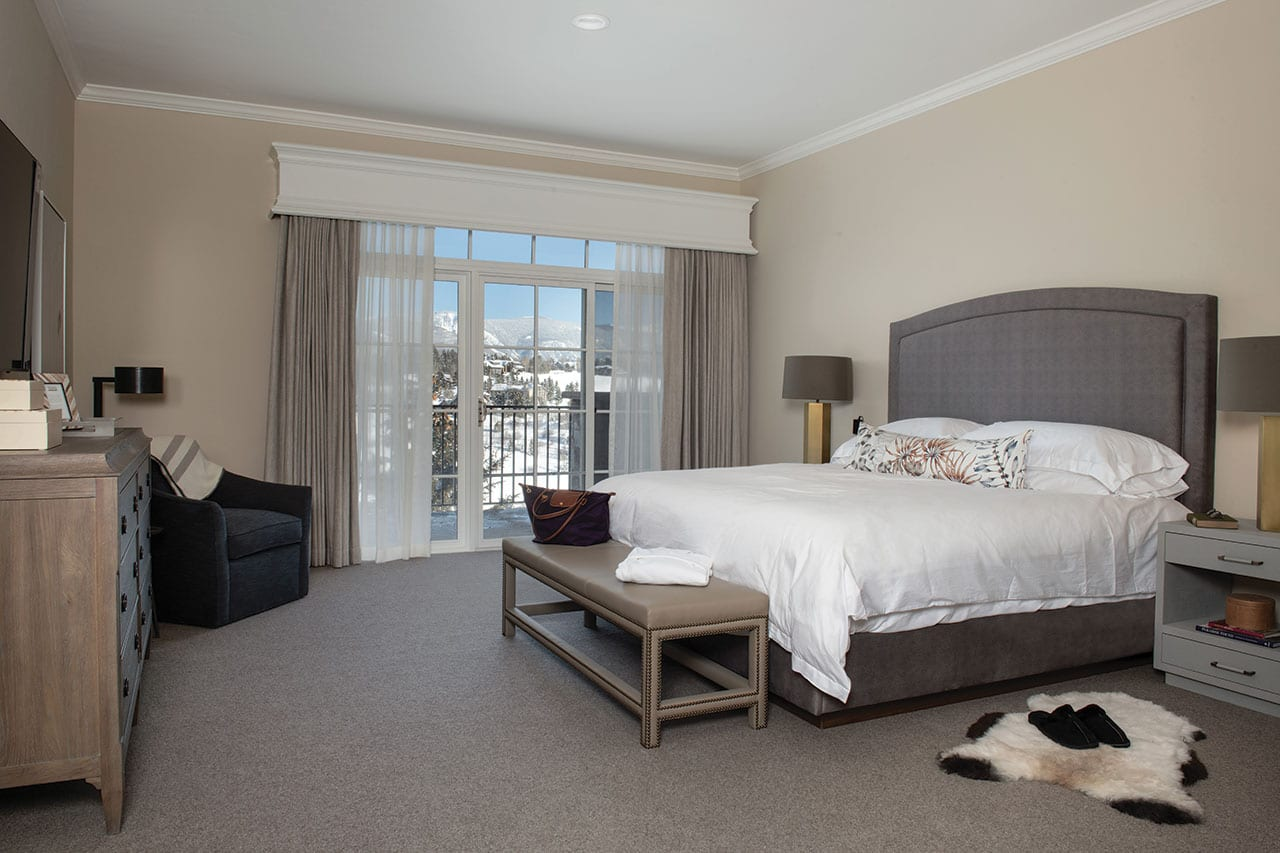 Private Suite with king bed