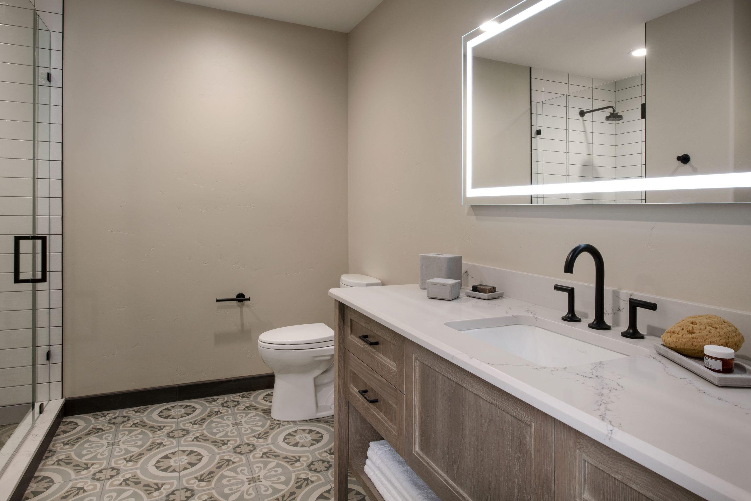 Private Suite Bathroom