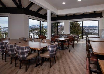 dining area APN Lodge
