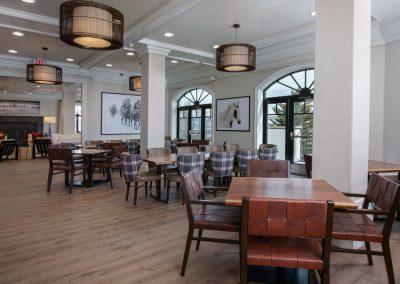 APN Lodge dining room