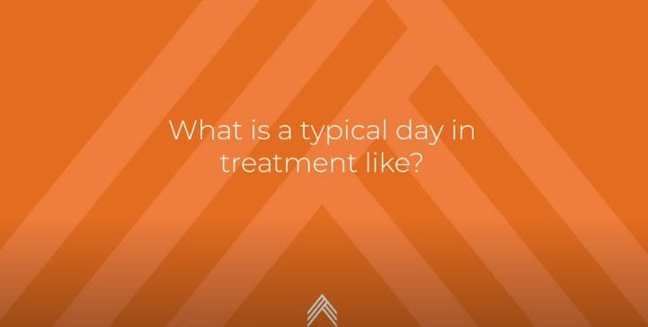 What is a typical day in treatment like at APN Lodge?