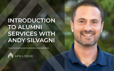 Andy Silvagni and the APN Lodge Alumni Program