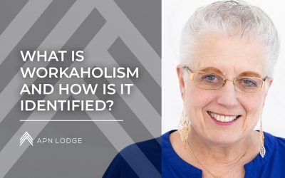 What is workaholism, and how is it identified?