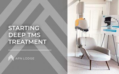 Starting Deep TMS Treatment